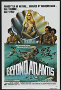 "Movie Posters:Fantasy, Beyond Atlantis (Dimension, 1973). One Sheet (27"" X 41""). Fantasy...."