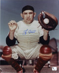 Autographs:Photos, Yogi Berra Signed Photograph. Elegant portrait of the mightybackstop from New York Yankees fame. Yogi Berra has also left...
