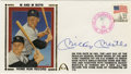Autographs:Others, Mickey Mantle Signed First Day Cover. As the 1961 season drew to aclose, the nation held its breath as two members of the ...