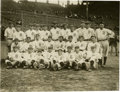 Baseball Collectibles:Photos, 1914 Boston Braves Underwood & Underwood Photograph.Exceptional silver-gelatin team shot of the Miracle Braves derivesfro...