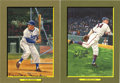 "Autographs:Post Cards, Duke Snider and Bob Feller Signed Perez-Steele ""Great Moments""Postcards Lot of 2. Two classic entries from the ""Great Mome..."