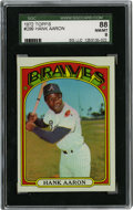 Baseball Cards:Singles (1970-Now), 1972 Topps Hank Aaron #299 SGC 88 NM/MT 8....