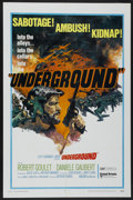 "Movie Posters:War, Underground (United Artists, 1970). One Sheet (27"" X 41""). War...."