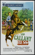 "Movie Posters:Adventure, Gallant Bess (MGM, R-1973). One Sheet (27"" X 41""). Adventure...."