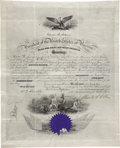 Autographs:U.S. Presidents, Chester Arthur Signed Naval Appointment. ...