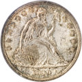 Seated Dollars, 1840 $1 MS62 PCGS. CAC....