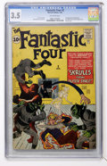 Silver Age (1956-1969):Superhero, Fantastic Four #2 (Marvel, 1962) CGC VG- 3.5 Off-white pages....
