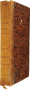 Books:First Editions, Charles Dickens. Oliver Twist; Or, The Parish Boy'sProgress. Paris: Baudry's European Library, 1839....