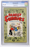 Golden Age (1938-1955):Cartoon Character, Family Funnies #1 File Copy (Harvey, 1950) CGC VF/NM 9.0 Cream to off-white pages....