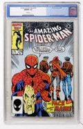 Modern Age (1980-Present):Superhero, The Amazing Spider-Man #276-280 CGC Group (Marvel, 1986)....(Total: 5 Comic Books)