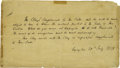 Autographs:Statesmen, Henry Clay Third Person Autograph Letter Signed...