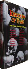 Books:Signed Editions, [Stephen King]. Tim Underwood & Chuck Miller, editors. Kingdom of Fear. The World of Stephen King....
