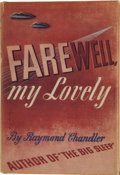 Books:First Editions, Raymond Chandler. Farewell, My Lovely. New York: Alfred A.Knopf, 1940....