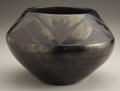 American Indian Art:Pottery, A SAN ILDEFONSO BLACKWARE JAR. Maria Martinez. c. 1925. ...