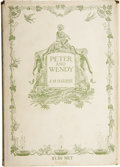 Books:Children's Books, J.M. Barrie. Peter and Wendy. Illustrated by F.D. Bedford.New York: Charles Scribner's Sons, [1911]....