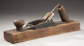 Political:3D & Other Display (1896-present), W.P.A. Wooden Hand Plane...