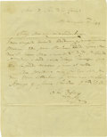 Autographs:Non-American, Jose Rafael Lopez Two Autograph Letters Signed. ... (Total: 2Items)