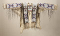 Paintings, A SIOUX BEADED HIDE SHIRT. c. 1920...