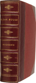 Books:First Editions, Charles Dickens. Bleak House. With Illustrations by H. K.Browne. London: Bradbury and Evans, 1853 [i.e., March ...