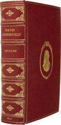 Books:First Editions, Charles Dickens. The Personal History of David Copperfield.With Illustrations by H. K. Browne. London: Bradbury...