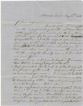Autographs:Military Figures, Army Officer D.S. Edwards Autograph Letter Signed. ...