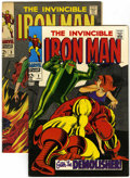 Silver Age (1956-1969):Superhero, Iron Man #2 and 3 Group (Marvel, 1968) Condition: Average VF.... (Total: 2 Comic Books)