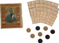 """Baseball Collectibles:Others, 1884 Baseball Card Game. Dubbed """"A Professional & Social Gameof Cards,"""" this 19th-century game borrows from the rules of b..."""