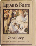 Books:Signed Editions, Zane Grey. Tappan's Burro and Other Stories....
