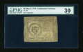 Colonial Notes:Continental Congress Issues, Continental Currency May 9, 1776 $8 PMG Very Fine 30....