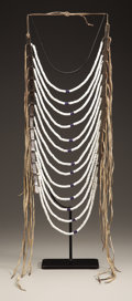 American Indian Art:Beadwork and Quillwork, A NORTHERN PLAINS OR PLATEAU LOOP NECKLACE. c. 1885...
