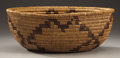 American Indian Art:Baskets, A CALIFORNIA COILED BOWL. c. 1920...