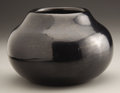 American Indian Art:Pottery, A SAN ILDEFONSO BLACKWARE JAR. Maria Martinez. c. 1960...