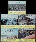 "Movie Posters:War, The Blue Max (20th Century Fox, 1966). Lobby Cards (5) (11"" X 14"").War.... (Total: 5 Items)"