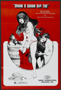 """Movie Posters:Adult, Should a School Girl Tell (Sunset International, 1977). One Sheet (22.5"""" X 34""""). Adult...."""