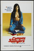 """Movie Posters:Adult, Campus Swingers (Hemisphere Pictures, 1973). One Sheet (27"""" X 41""""). Adult...."""