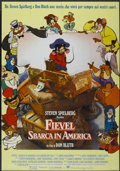 "Movie Posters:Animated, An American Tail (United International Pictures, 1986). Italian 2 - Folio (39"" X 55""). Animated...."