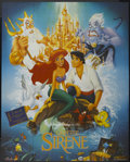 "Movie Posters:Animated, The Little Mermaid (Warner Brothers, 1989). French Grande (47"" X63"") Academy Award. Animated...."