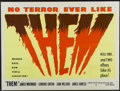 """Movie Posters:Science Fiction, Them! (Warner Brothers, 1954). British Quad (30"""" X 40""""). ScienceFiction...."""