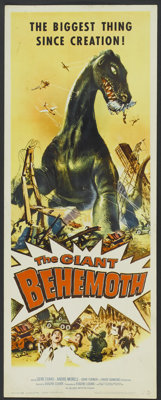 "The Giant Behemoth (Allied Artists, 1959). Insert (14"" X 36""). Science Fiction"
