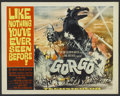 "Movie Posters:Science Fiction, Gorgo (MGM, 1961). Half Sheet (22"" X 28""). Science Fiction...."