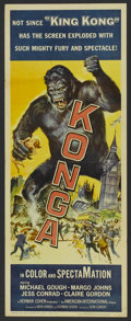 "Movie Posters:Science Fiction, Konga (American International, 1961). Insert (14"" X 36""). ScienceFiction...."