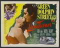 "Movie Posters:Adventure, Green Dolphin Street (MGM, R-1955). Half Sheet (22"" X 28"") Style A.Adventure...."
