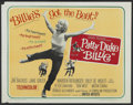"""Movie Posters:Comedy, Billie (United Artists, 1965). Half Sheet (22"""" X 28""""). Comedy...."""