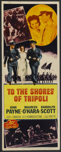 """Movie Posters:War, To the Shores of Tripoli (20th Century Fox, R-1952). Insert (14"""" X36""""). War...."""
