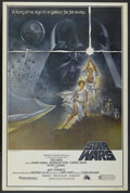 "Movie Posters:Science Fiction, Star Wars (20th Century Fox, 1977). Poster (40"" X 60"") Style A.Science Fiction...."