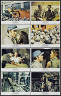 "Movie Posters:Science Fiction, Soylent Green (MGM, 1973). Lobby Card Set of 8 (11"" X 14""). Science Fiction.... (Total: 8 Items)"