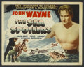 "Movie Posters:Action, The Sea Spoilers (Realart, R-1948). Title Lobby Card (11"" X 14"").Action...."