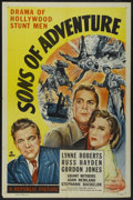 "Movie Posters:Adventure, Sons of Adventure (Republic, 1948). One Sheet (27"" X 41"").Adventure...."