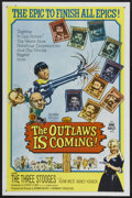 "Movie Posters:Comedy, The Outlaws is Coming (Columbia, 1965). One Sheet (27"" X 41""). Comedy...."