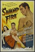 "Movie Posters:Adventure, Swamp Fire (Paramount, 1946). One Sheet (27"" X 41""). Adventure...."